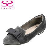 SAVOYサボイSA94007レディースポインテッドトゥパンプスローヒール歩きやすいレディース