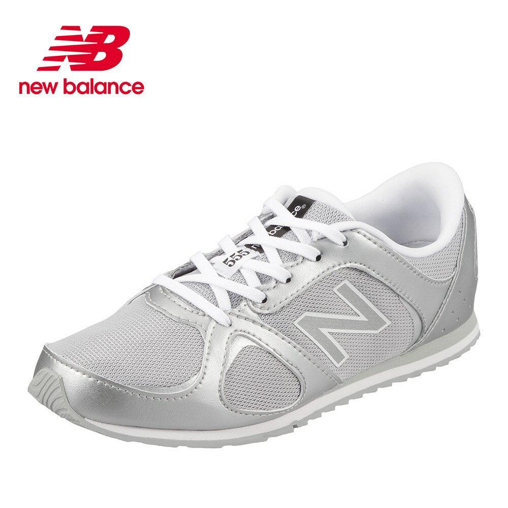 ニューバランス new balance ウォーキングシューズ WL555SID レディース 靴 シューズ D相当 ウォーキングシューズ ローカット カジュアル スニーカー トレーニング ジム スポーツ クッション性 歩きやすい シルバー TSRC