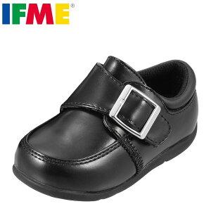 イフミー IFME フォーマル靴 22-5019 キッズ 靴 シューズ 3E相当 ローファー フォーマルシューズ 子供 男の子 結婚式 発表会 入学式 幅広 履きやすい ブラック TSRC