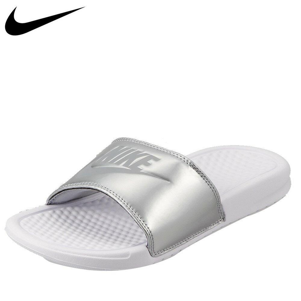 ナイキ NIKE サンダル 343881-107 レディース靴 靴 シューズ 2E相当 スポーツサンダル スポサン ベナッシ コンフォートサンダル シャワーサンダル 大きいサイズ対応 25.0cm 26.0cm 27.0cm 28.0cm 29.0cm ホワイト TSRC