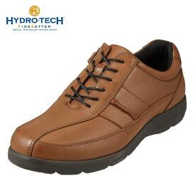 【期間限定価格】ハイドロテック ウォーキング HYDRO TECH ウォーキングシューズ HD1343 メンズ靴 靴 シューズ 4E相当 ウォーキングシューズ 防水 ローカット スニーカー 防滑 軽量 幅広 大きいサイズ対応 28.0cm キャメル TSRC