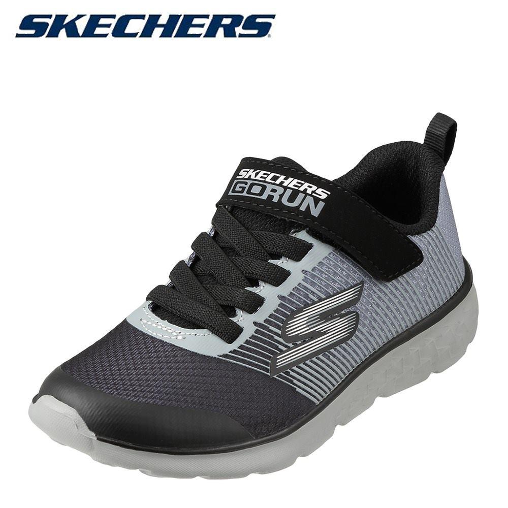 スケッチャーズ SKECHERS スニーカー 97685L キッズ靴 靴 シューズ キッズスニーカー 軽量 GO RUN 400-KROTO 子ども 男の子 かっこいい 人気 履きやすい ブラック TSRC