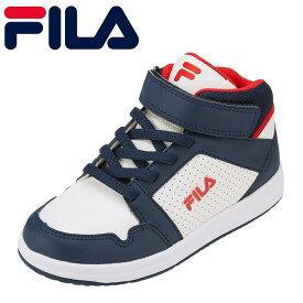 フィラ FILA スニーカー FC-4205J キッズ靴 靴 シューズ 3E相当 ハイカットスニーカー カジュアルスニーカー 子ども 男の子 SaltareHI 通学 学校 ブランド 人気 おしゃれ 履きやすい 歩きやすい トリコロール TSRC