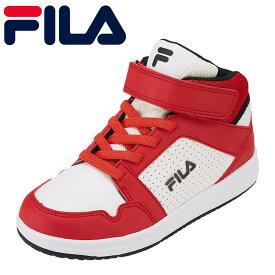 フィラ FILA スニーカー FC-4205J キッズ靴 靴 シューズ 3E相当 ハイカットスニーカー カジュアルスニーカー 子ども 男の子 SaltareHI 通学 学校 ブランド 人気 おしゃれ 履きやすい 歩きやすい レッド TSRC