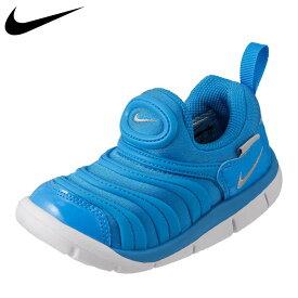 ナイキ NIKE スニーカー 343938-427 キッズ 靴 靴 シューズ 2E相当 スリッポン ローカットスニーカー 子ども 男の子 ダイナモ フリー TD 紐なし 履かせやすい 履きやすい ブランド 人気 おしゃれ カジュアル ブルー TSRC