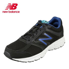 ニューバランス new balance メンズシューズ M460BT22E メンズ靴 靴 シューズ 2E相当 ランニングシューズ ローカットスニーカー ウォーキング 歩きやすい クッション性 スポーツ ジム 大きいサイズ対応 28.0cm 29.0cm ブラック×ブルー TSRC
