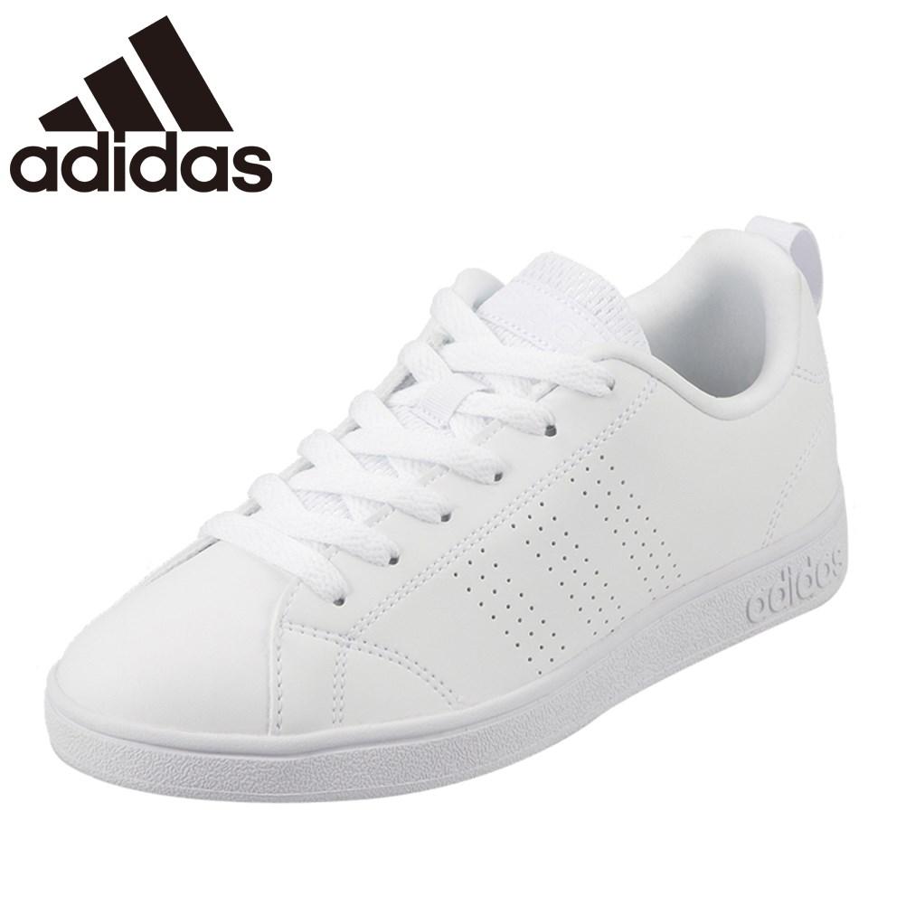 アディダス adidas スニーカー B74685 L レディース靴 靴 シューズ ローカット スニーカー VALCLEAN2 バルクリーン コートタイプ レースアップ スポーティ カジュアル ホワイト TSRC
