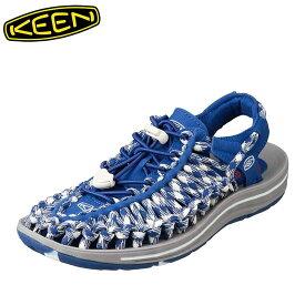 キーン KEEN 1018702 レディース靴 2E相当 レディースサンダル スポサン 軽量設計 UNEEK ユニーク 小さいサイズ対応 大きいサイズ対応 ブルー TSRC