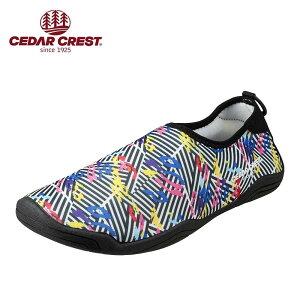 セダークレスト CEDAR CREST CC-9272 メンズ靴 3E相当 メンズアクアシューズ マリンシューズ ウォーターシューズ 水抜きソール 大きいサイズ対応 マルチ TSRC