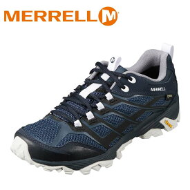 メレル MERRELL 598189 メンズ靴 2E相当 アウトドアシューズ ビブラムソール 滑りにくい 人気ブランド 大きいサイズ対応 ネイビー TSRC