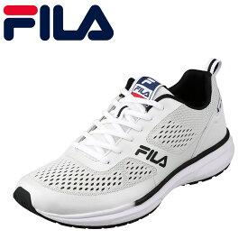 [全商品ポイント10倍]フィラ FILA FC-2206 メンズ靴 3E相当 スポーツシューズ ランニングシューズ Vincitore 大きいサイズ対応 ホワイト×ブラック TSRC