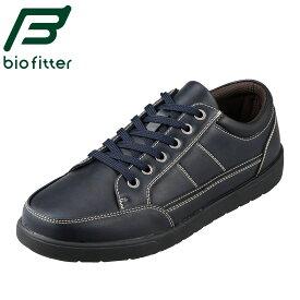 バイオフィッター スタイリッシュフォーメン Bio Fitter BF-3910 メンズ靴 3E相当 カジュアルシューズ 軽量 ウレタンインソール 大きいサイズ対応 ネイビー TSRC