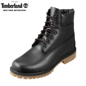 ティンバーランド Timberland TIMB A22WK メンズ靴 3E相当 ブーツ 防水 ウォータープルーフ シックスインチブーツ 6インチ 本革 レザー ブラック TSRC