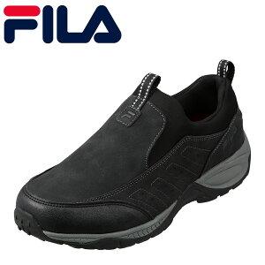 フィラ FILA FC-6210 メンズ靴 3E相当 アウトドアシューズ 防水 透湿 人気 ブランド 小さいサイズ対応 大きいサイズ対応 ブラック TSRC