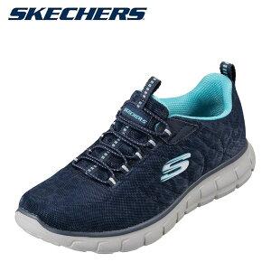 スケッチャーズ SKECHERS 873010 レディース靴 スポーツシューズ ランニング ウォーキング メモリーフォーム 低反発 大きいサイズ対応 ネイビー TSRC