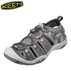 キーン KEEN 1021391 メンズ靴 靴 シューズ 2E相当 サンダル ニット EVOFIT 小さいサイズ対応 大きいサイズ対応 グレー TSRC