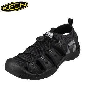 キーン KEEN 1021397 レディース靴 靴 シューズ 2E相当 サンダル ニット EVOFIT 大きいサイズ対応 ブラック TSRC