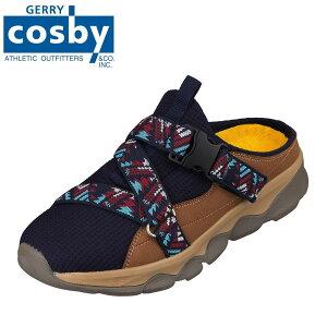 ジェリーコスビー GERRY COSBY CS-5741 メンズ靴 靴 シューズ 3E相当 サンダル カジュアルシューズ アフタースポーツ 楽 かかとレス アウトドア ネイビー TSRC