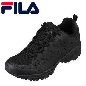 フィラ FILA F6217 メンズ靴 靴 シューズ 2E相当 カジュアルシューズ 防水 透湿 雨の日 人気 ブランド 小さいサイズ対応 大きいサイズ対応 ブラック TSRC