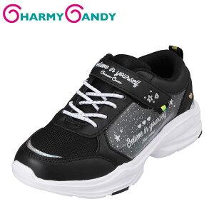 チャーミーキャンディ CHARMY CANDY CCB-1011 キッズ靴 子供靴 2E相当 スニーカー 防水 雨の日 軽量 軽い オシャレ 人気 ブラック TSRC