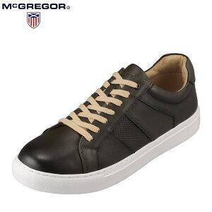 マックレガー McGREGOR MC8020 メンズ靴 靴 シューズ 3E相当 カジュアルシューズ 本革 レザー 軽量 軽い 小さいサイズ対応 カーキ TSRC