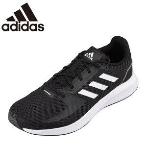 アディダス adidas FY5943 メンズ靴 靴 シューズ スポーツシューズ ランニングシューズ クッション性 衝撃緩和 小さいサイズ対応 大きいサイズ対応 ブラック×ホワイト TSRC