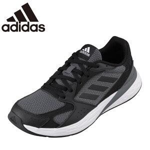 アディダス adidas FY9587 レディース靴 靴 シューズ スポーツシューズ ランニングシューズ クッション性 衝撃緩和 大きいサイズ対応 グレー×ブラック TSRC