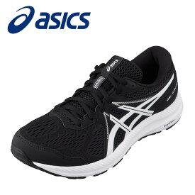 アシックス asics 1011B040.002M メンズ靴 靴 シューズ 2E相当 スポーツシューズ ランニングシューズ 衝撃緩衝 クッション性 小さいサイズ対応 大きいサイズ対応 ブラック×ホワイト TSRC