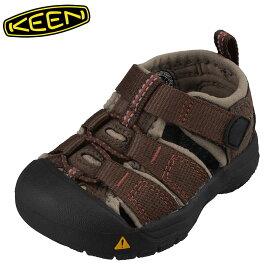 キーン KEEN 1005718 キッズ靴 ベビー靴 靴 シューズ 2E相当 サンダル 軽量設計 NEWPORT H2 T ニューポート ブラウン TSRC