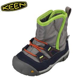 キーン KEEN 1015239 キッズ靴 ベビー靴 靴 シューズ 2E相当 ブーツ 軽量設計 PEEK ピーク グレー TSRC