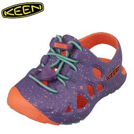 キーン KEEN 1014555 キッズ靴 ベビー靴 靴 シューズ 2E相当 サンダル 軽量設計 RIO T リオ パープル TSRC