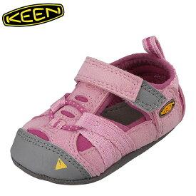 キーン KEEN 1012749 キッズ靴 ベビー靴 靴 シューズ 2E相当 サンダル 軽量設計 SEACAMP CRIB I シーキャンプ ピンク TSRC