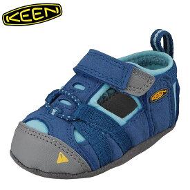 キーン KEEN 1012750 キッズ靴 ベビー靴 靴 シューズ 2E相当 サンダル 軽量設計 SEACAMP CRIB I シーキャンプ ブルー TSRC