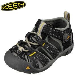 キーン KEEN 1012063 キッズ靴 ベビー靴 靴 シューズ 2E相当 サンダル 軽量設計 SEACAMP II CNX T シーキャンプ ブラック TSRC