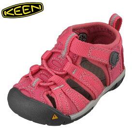 キーン KEEN 1012495 キッズ靴 ベビー靴 靴 シューズ 2E相当 サンダル 軽量設計 SEACAMP II CNX T シーキャンプ ローズ TSRC