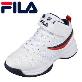 フィラ FILA FC-4211J キッズ靴 子供靴 靴 シューズ スポーツシューズ バスケ バスケットボール 体育館 室内 大きいサイズ対応 トリコロール TSRC