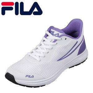 フィラ FILA FC-2212W レディース靴 靴 シューズ スポーツシューズ 軽量 軽い ランニング ジム ブランド 有名 ホワイト×パープル TSRC