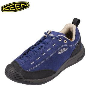 キーン KEEN 1023871 メンズ靴 靴 シューズ 2E相当 スニーカー アウトドア 防水 透湿 JASPERIIWP ブルー TSRC