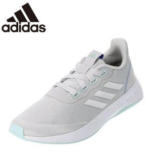 アディダス adidas Q46322 レディース靴 靴 シューズ 2E相当 スポーツシューズ ランニングシューズ 軽量 軽い サスティナブル SDGs グレー TSRC