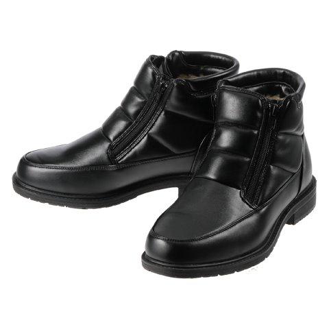 [ホットウォーカー] Hot Walker 3660 メンズ | メンズスノーシューズ | メンズブーツ | 雪靴 シンプル | 保温機能 暖かい | ブラック TSRC