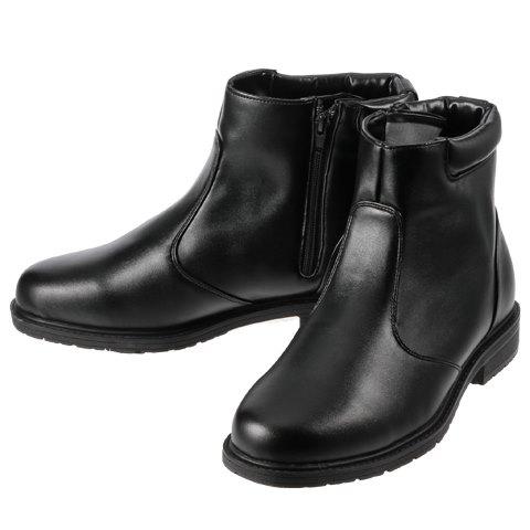 [ホットウォーカー] Hot Walker 3661 メンズ | メンズスノーシューズ | メンズブーツ | 雪靴 シンプル | 保温機能 暖かい | ブラック TSRC