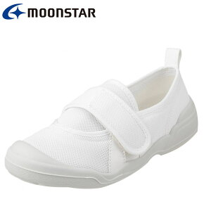 [オトナノウワバキ] 大人の上履き 2 11210561L レディース | 大人用上履き | 室内履き 軽量 | リハビリ 介護 病院 | 甲ベルト 着脱簡単 | ホワイト (小さいサイズ) TSRC