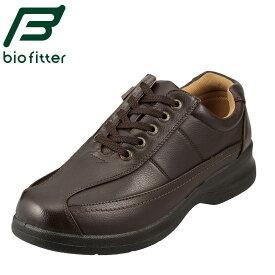 [バイオフィッター ベーシックフォーメン] Bio Fitter BF-2907 メンズ   メンズカジュアルシューズ   多機能   4E 幅広   定番 人気   ダークブラウン TSRC