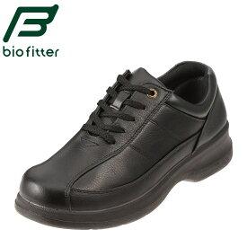 [バイオフィッター ベーシックフォーメン] Bio Fitter BF-2911 メンズ   レースアップシューズ   編み上げ カジュアル   脱ぎ履きしやすい 幅広   大きいサイズ対応 28.0cm   ブラック TSRC