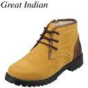[グレート インディアン] Great Indian 5458 メンズ | カジュアルブーツ | 防水 ショートブーツ | サイドジップ ラギ…