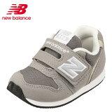 ニューバランスnewbalanceFS996CAIベビーキッズベビーシューズキッズスニーカー子供靴女の子男の子面ファスナー着脱テープクラシックグレー