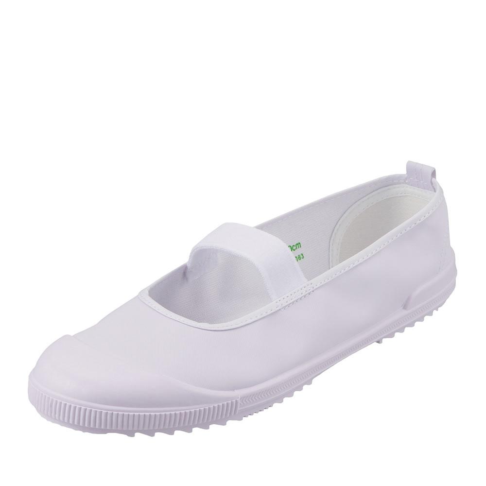 [マラソン期間中ポイント5倍]【期間限定価格】10572 キッズ ジュニア   上履き 上靴   バレーシューズ スクールシューズ   学校 ビニール お買得   男の子 女の子   ホワイト TSRC