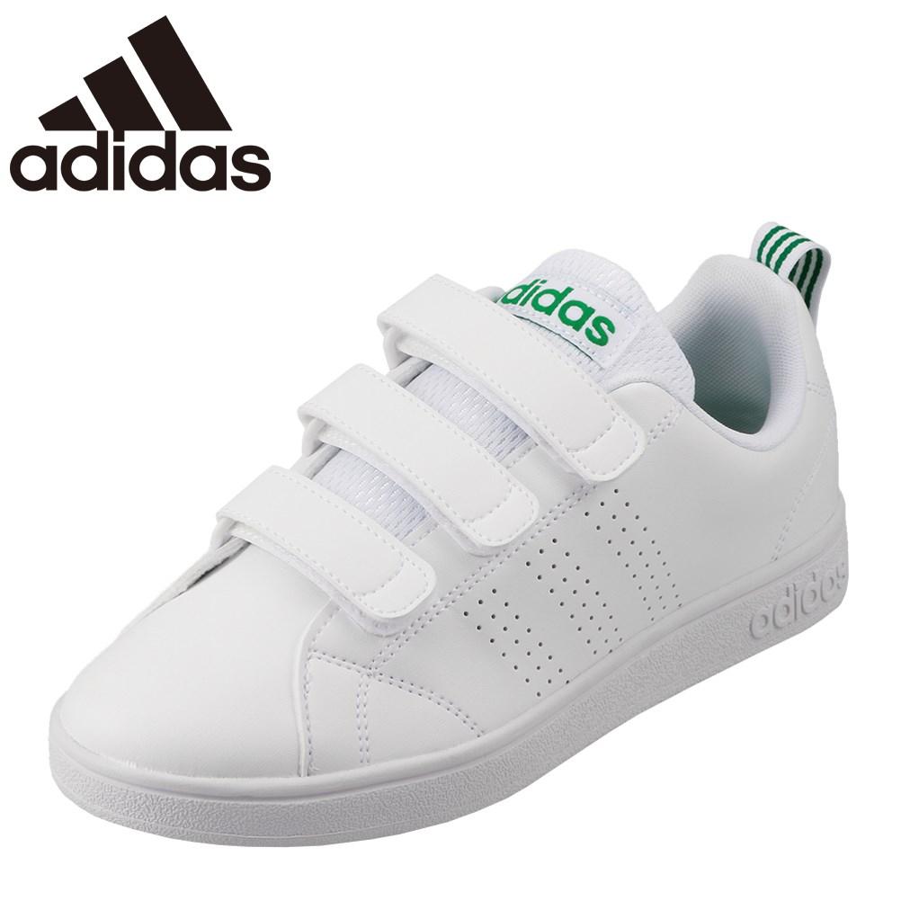 [マラソン期間中ポイント5倍][アディダス] adidas AW5210 M メンズ | メンズスニーカー カジュアルシューズ | VALCLEAN2 CMF バルクリーン2 CMF | 白 スニーカー 通学 | 大きいサイズ対応 28.0cm 29.0cm | ホワイト×グリーン TSRC