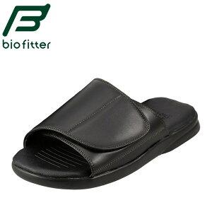 [バイオフィッター らくほ] Bio Fitter BFH5124 メンズ | オフィス履き | 機能性 | バックストラップ | シンプル 定番 | ブラック TSRC