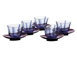東洋佐々木ガラス水の舞冷茶揃